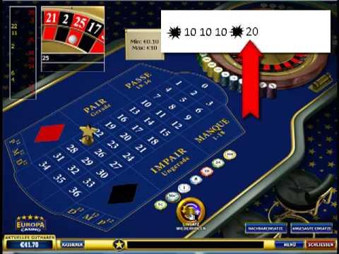 Spielmarke Beim Roulette
