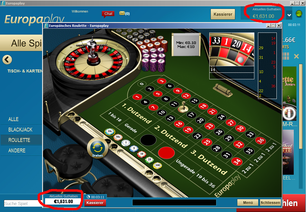 Roulette System Software -134780