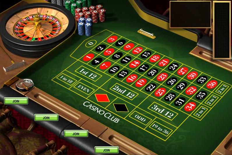 Roulette Tisch -427395