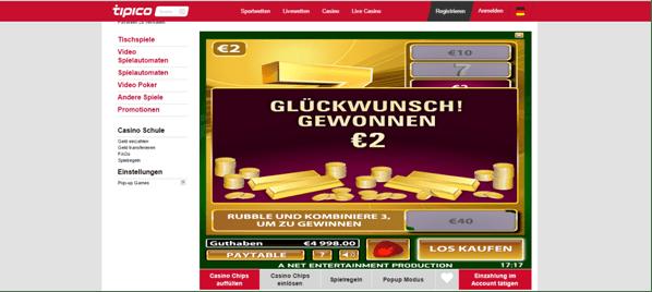 Rubbellose Gratis Bonus -67980