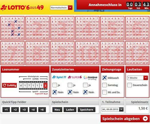 Setzt auf Lotto Casino -891755