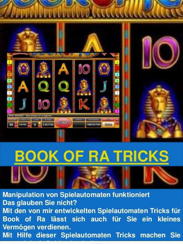 Spielautomaten Tricks Book of Ra -355964
