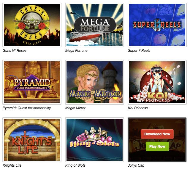 Spiele Auswahl Quasar Gaming -782979