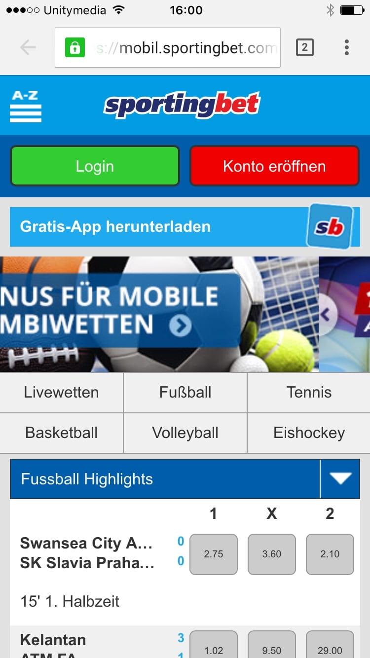 Sportwetten app -709758