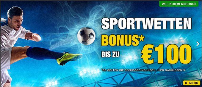 Sportwetten Casino Bonus