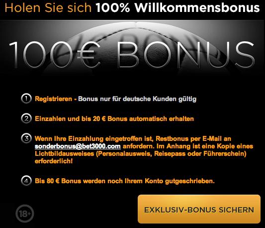 Sportwetten Bonus -464742
