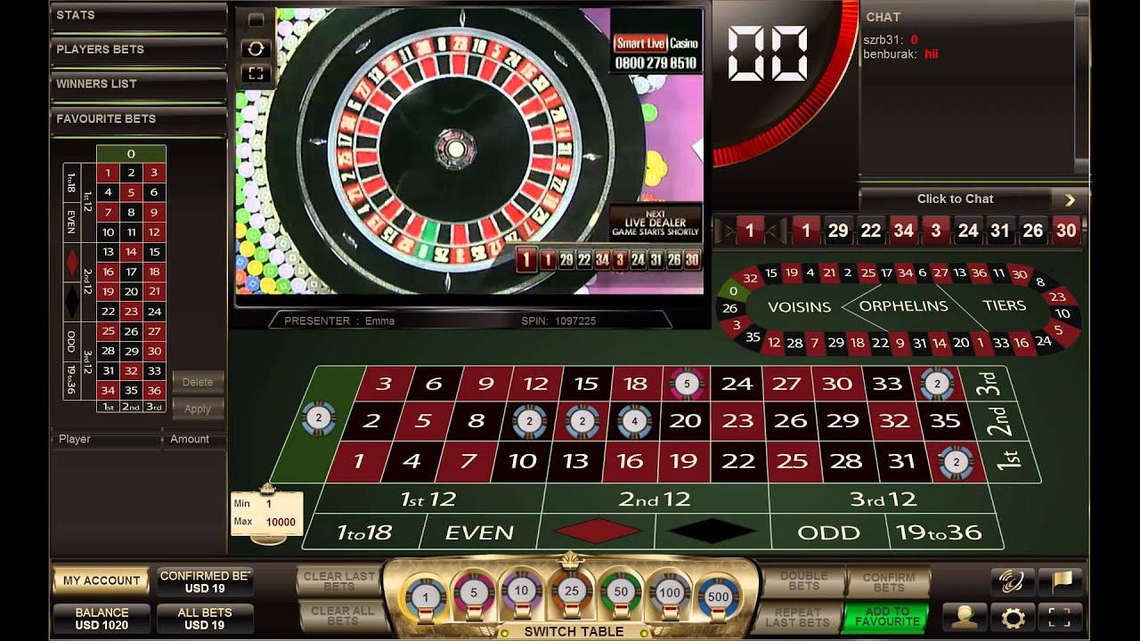 Wahrscheinlichkeit Roulette Smart Live Casino -543295