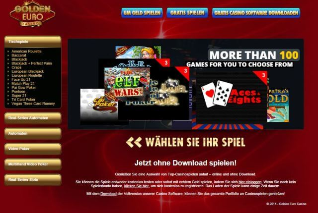 Werbecode Golden Euro Casino -760809